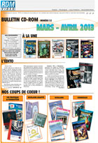 Bulletin multim�dia - Mars - Avril 2013