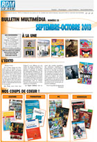 Bulletin multim�dia - Septembre - Octobre 2013