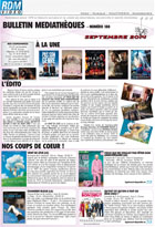 Bulletin vid�o  - Septembre - 2014