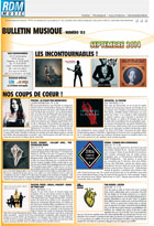 Bulletin musique - Septembre 2014