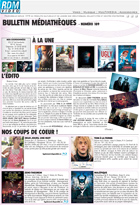 Bulletin vid�o  - Octobre - 2014