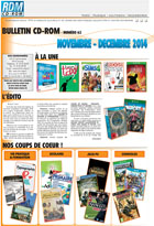 Bulletin multim�dia - Novembre - D�cembre 2014