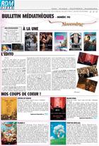 Bulletin vid�o  - Novembre - 2014