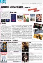 Bulletin vid�o  - Janvier 2015