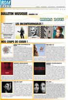 Bulletin musique - Mars 2015