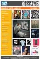 Bulletin musique - Juin 2015