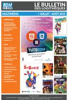 Bulletin multim�dia - Juillet - Ao�t 2015