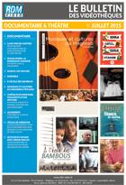 Bulletin vid�o Documentaire et Hors film - Juillet 2015