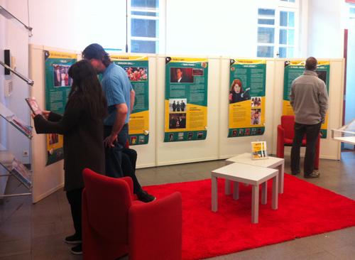 L'exposition de RDM consacrées aux séries TV à la médiathèque de Sucy-en-Brie