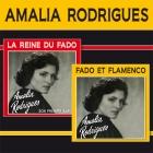 CD Amalia Rodrigues - la reine du fado + fado et flamenco, de Amalia Rodrigues