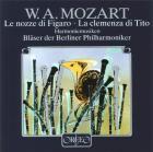 Mozart : les noces de Figaro - la clémence de Titus (arr. pour ensemble d'harmonie)