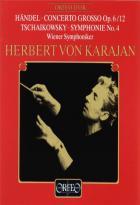 Haendel : concerto grosso. Tchaïkovski : symphonie n°4
