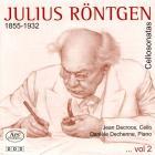 Röntgen - sonates pour violoncelle - Volume 2