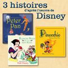 CD 3 histoires d'apr�s l'oeuvre de Disney, de Fran�ois P�rier, Pierre Larquay, St�phane Goldmann...