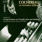 Cochereau ; St Matthew improvisations