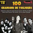 CD 100 chansons de toujours - Volume 2, de Jacques Brel, Charles Aznavour, Georges Brassens...