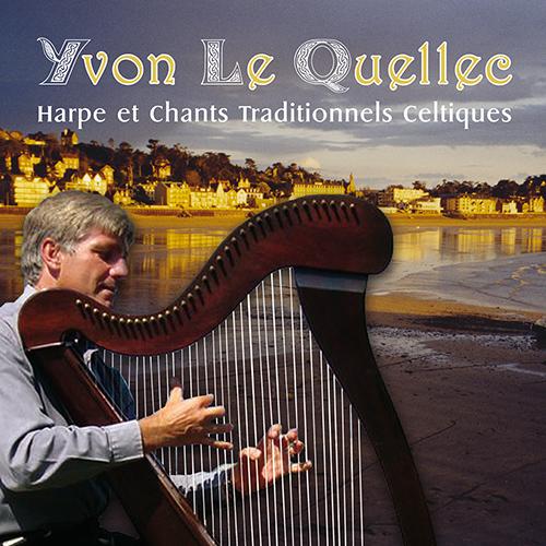 CD Harpe et chants traditionnels celtiques, de Yvon Le Quellec