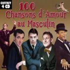 CD 100 chansons d'amour au masculin, de Albert Pr�jean, Alibert, Andr� Baug�...