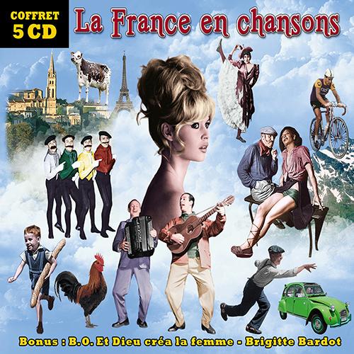 Achat CD La France en chansons, de Alibert, Andreany, Arletty...