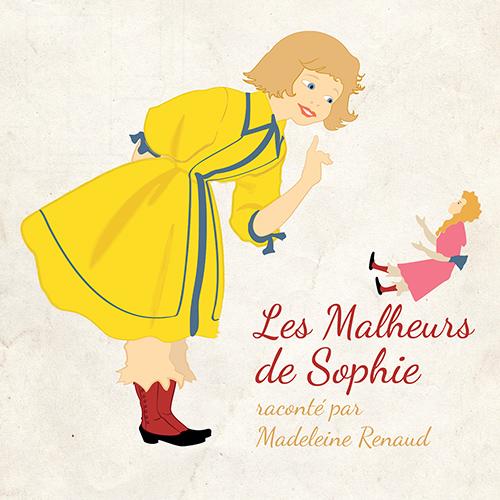 CD Les malheurs de Sophie, de Madeleine Renaud