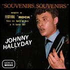 CD Souvenirs, souvenirs enregistr� au festival Rock / S�rie mode, de Johnny Hallyday