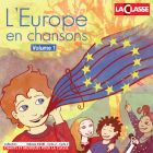 jaquette CD L'Europe en chansons - Volume 1