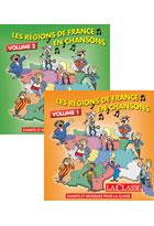 Les régions de France en chansons - Volume 1+2