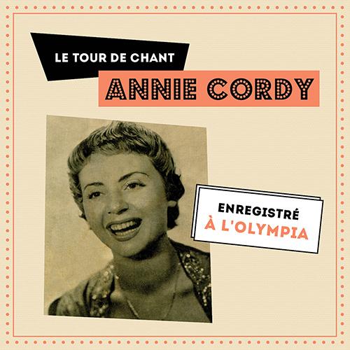 CD Le tour de chant d'Annie Cordy � l'Olympia, de Annie Cordy