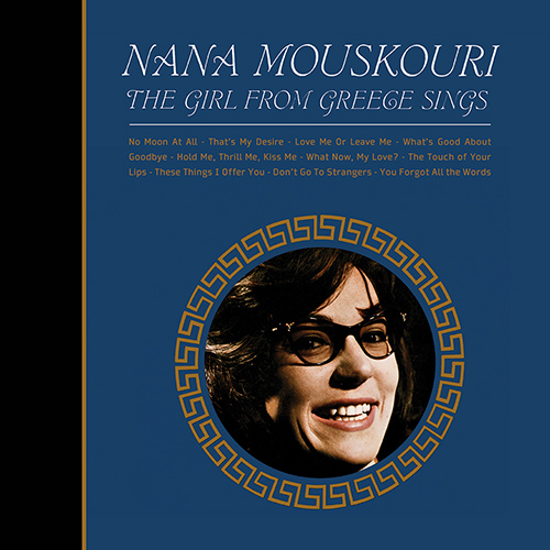 CD The Girl from Greece sings, de Nana Mouskouri