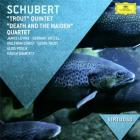 jaquette CD Schubert - trout quintet; death and the maiden