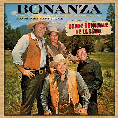 CD Bonanza, de Dan Blocker, Michael Landon, Lorne Greene...