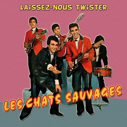 CD Laissez-nous twister, de Les Chats Sauvages