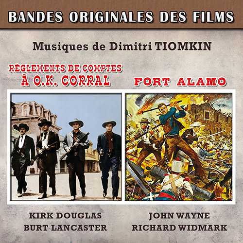 Achat CD R�glements de comptes � O.K. Corral + Alamo, de John Wayne, Marty Robbins, The Royal Philharmonic Orchestra Soloists & Chorus...