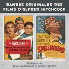 Achat CD The Paradine Case and Spellbound (Le Proc�s Paradine et La Maison du docteur Edwardes), de Edward Rebner, Rack Godwin, Eadie Griffith...