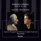 Gilles - messe des morts : le service funèbre de Rameau Paris, 27 IX 1764