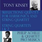 Reflections : quintet for harmonica and string quartet/string quartets