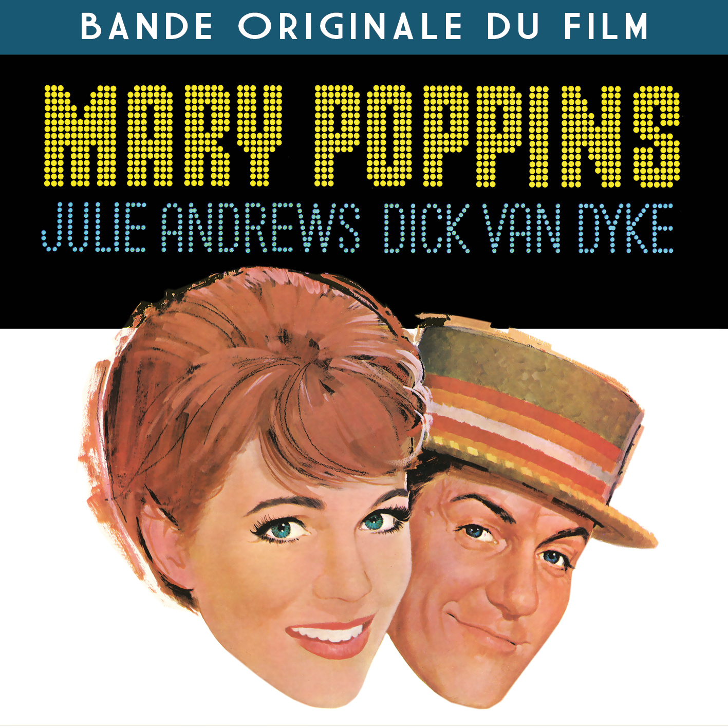 CD Mary Poppins - Bande Originale du Film (Version Anglaise & Fran�aise), de Julie Andrews, Dick Van Dyke