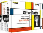 Sir S. Rattle explore et dirige la musique du 20e s.