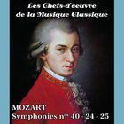 Les chefs-d'oeuvre de la musique classique - MOZART - Symphonies nos 40-24-25