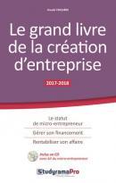 Le grand livre de la création d'entreprise - le statut de micro-entrepreneur, gérer son financement, rentabiliser son affaire (édition 2017/2018)