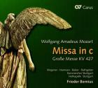 Mozart - Mozart : grande messe en do mineur, kv 427. Wegener, Harmsen, Balzer, Rathgeber, Bernius.
