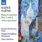 Saint-Saëns - concertos pour piano n° 1, op. 17 et n° 2, op. 22 - allegro appassionato en ut dièse mineur, op. 70