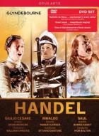Haendel - Haendel : Giulio Cesare - Rinaldo - Saul (Glyndebourne). Christie, Dantone, Bolton.