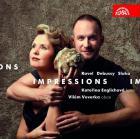 Ravel, Debussy, Sluka - impressions, oeuvres pour harpe et hautbois. Englichova, Veverka.