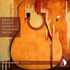 Pièces pour guitare de Bach, Roman, Scarlatti, Telemann et Weiss. Enea Leone.