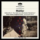 Mahler - Mahler : symphonie n° 5 - Lieder. Suitner, Lorenz, Herbig.