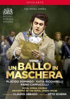 Verdi - Verdi : un ballo in maschera. Domingo, Ricciarelli, Cappuccilli, Grist, Bainbridge, Abbado, Schenk.