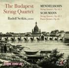 Mendelssohn - the Budapest string quartet