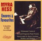 Myra Hess plays favourite encores : all best recordings, 1928-1941.