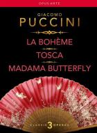 Puccini - Puccini : la bohème - Tosca - madame Butterfly